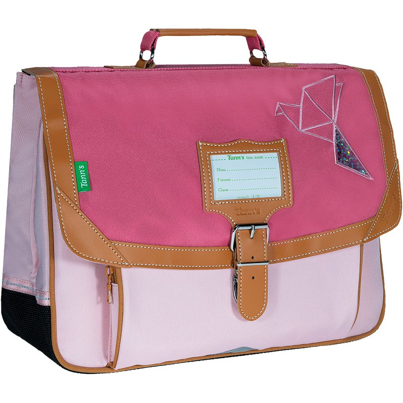 Cartable 38 Tanns Les Fantaisies Ninon Rose
