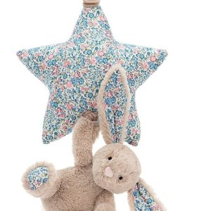 peluche musicale lapin beige