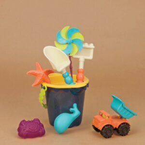 jouet de plage bleu enfant