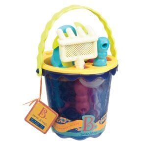 jouet de plage bleu