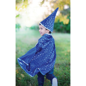 enfant cape de magicien
