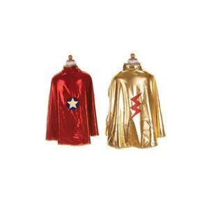 cape réversible super héroïne