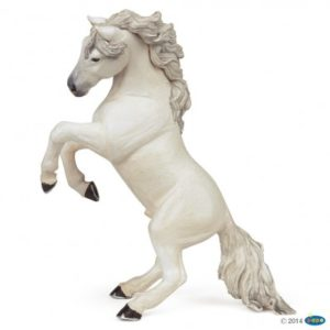 figurine cheval-cabre-blanc - 51521