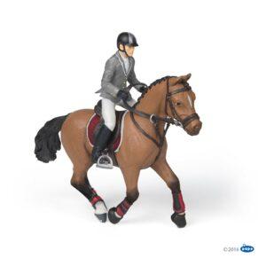 figurine cheval et cavalier