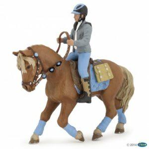 figurine cheval du jeune cavalier - 51544 - 2