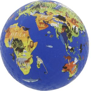 Balle Monde des Animaux 18 cm