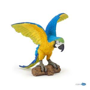 figurine perroquet ara bleu - 50235