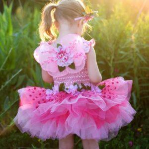 robe de fée rose