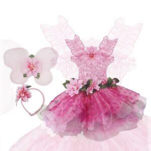 robe de fée de luxe rose